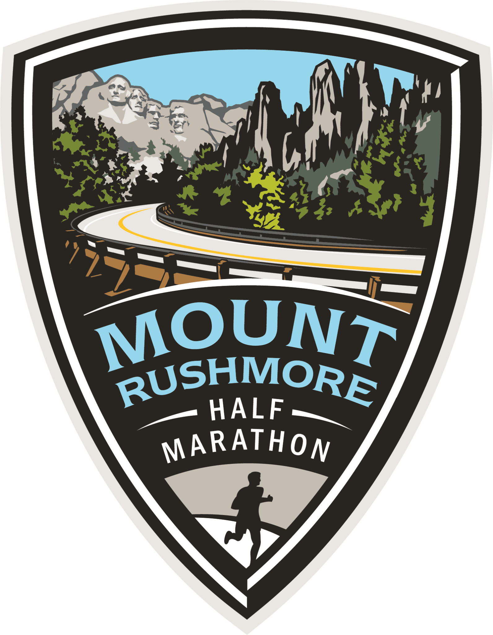Mt Rushmore Half Marathon Icon